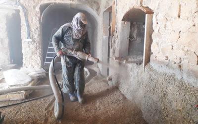 Isolation des murs chaux/chanvre ! C'est la révolution du BTP…